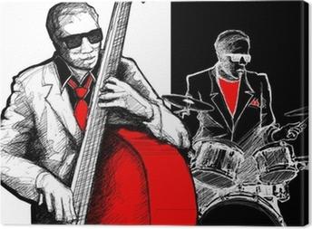 Leinwandbild Jazzband