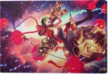 Leinwandbild Jinx - League of Legends