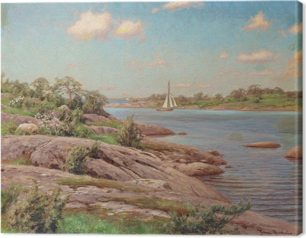 Leinwandbild Johan Krouthén - Archipel - Reproductions