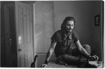 Leinwandbild Johnny Depp