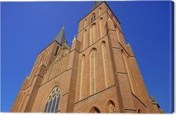Leinwandbild Kath. Pfarrkiche St. Mariä Himmelfahrt in KLEVE