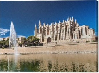 Leinwandbild Kathedrale von Palma de Mallorca