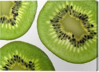 Leinwandbild Kiwi Hintergrund