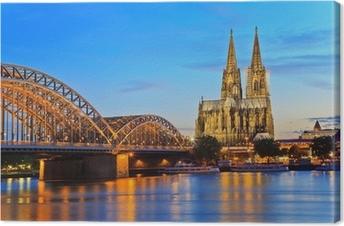 Leinwandbild Kölner Dom, Köln, Deutschland