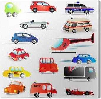 Leinwandbild Kraftfahrzeuge - set