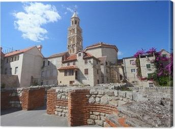 Leinwandbild Kroatien - Split