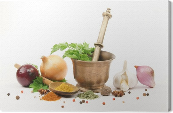Leinwandbild Küche - épices et Aromaten • Pixers® - Wir leben, um zu ...