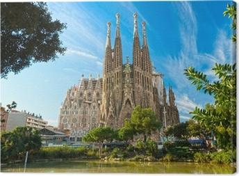 Leinwandbild La Sagrada Familia, Barcelona, Spanien.