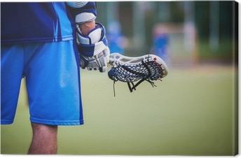 Leinwandbild Lacrosse