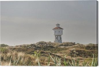 Leinwandbild Langeooger Wasserturm