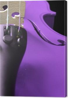 Leinwandbild Lila Violin