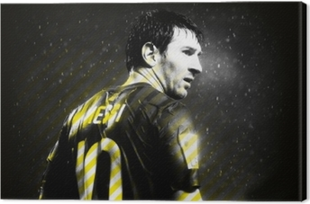 Leinwandbild Lionel Messi