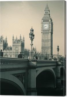 Leinwandbild London skyline