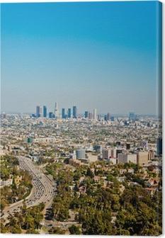 Leinwandbild Los Angeles Wolkenkratzer