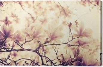 Leinwandbild Magnolie