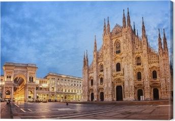 Leinwandbild Mailänder Dom, Italien