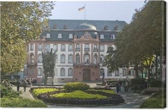 Leinwandbild Mainz Fasnachtsbrunnen