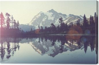 Leinwandbild Malerischer See