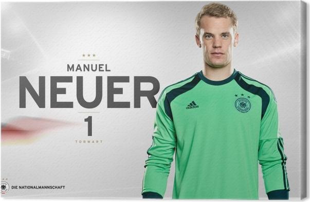 Leinwandbild Manuel Neuer - Themen