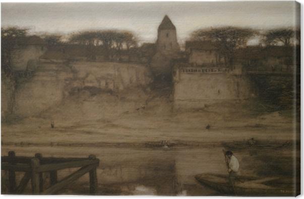 Leinwandbild Matthijs Maris - Saint-Ouen - Reproductions