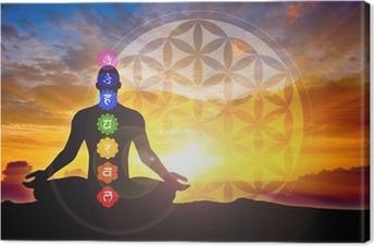Leinwandbild Meditation
