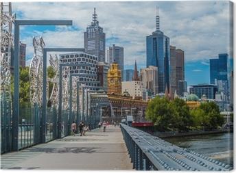 Leinwandbild Melbourne View 6