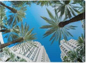 Leinwandbild Miami beach