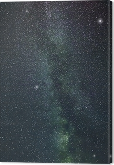 Leinwandbild Milchstraße Sterne