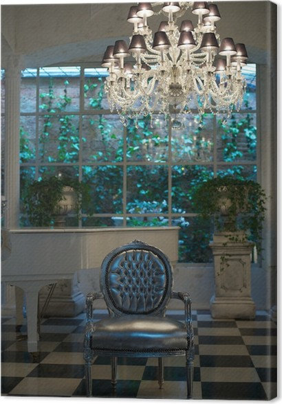 Leinwandbild Moderne Luxus-Interieur. • Pixers® - Wir leben, um zu ...