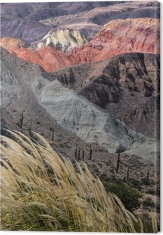 Leinwandbild Montañas de Salta, Argentinien