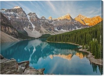 Leinwandbild Moraine lake
