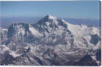 Leinwandbild Mount Everest - Gipfel der Welt (von Flugzeug)