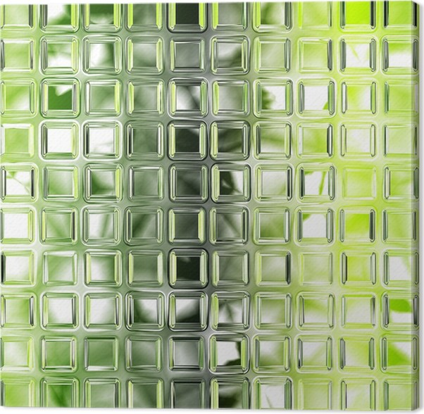 Leinwandbild nahtlose gr ne glas fliesen textur - Leinwandbilder kuche ...