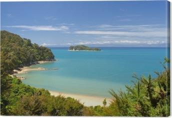 Leinwandbild Neuseeland Landschaft. Abel Tasman National Park.