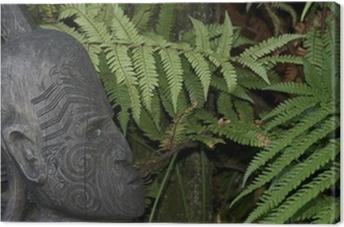 Leinwandbild Neuseeland Maori-Kunst