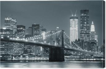 Leinwandbild New York City, Brooklyn Bridge