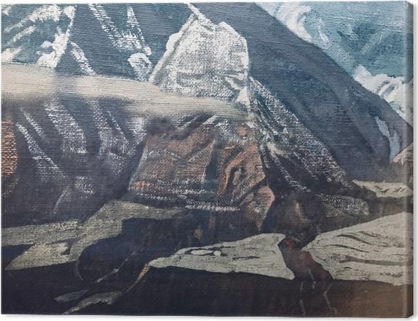 Leinwandbild Nicholas Roerich - Himalaya - Nicholas Roerich