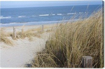 Leinwandbild Nordsee Strand