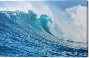 Leinwandbild Ozean welle
