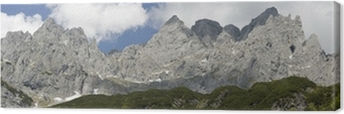 Leinwandbild Panorama vom Wilden Kaiser