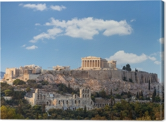 Leinwandbild Parthenon, Akropolis - Athen, Griechenland
