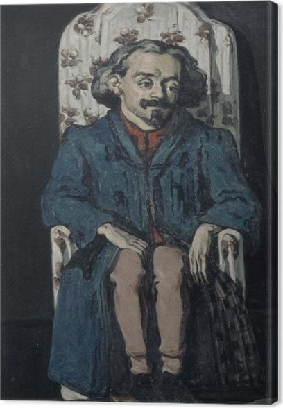 Leinwandbild Paul Cézanne - Achille Emperaire (Porträt) - Reproduktion