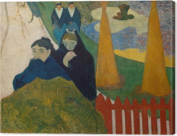 Leinwandbild Paul Gauguin - Arlésiennes (Mistral) - Reproduktion