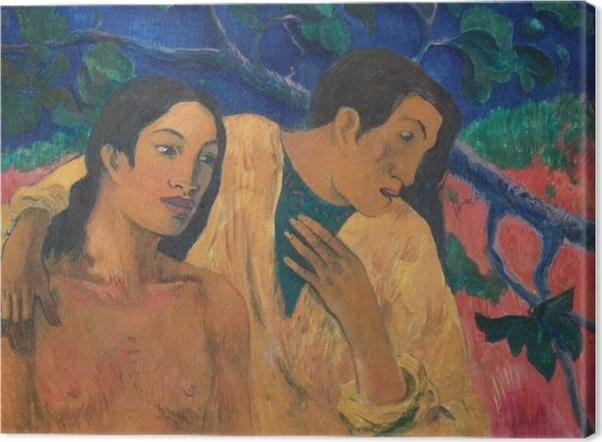 Leinwandbild Paul Gauguin - Flight (Tahiti Idyll) - Reproduktion