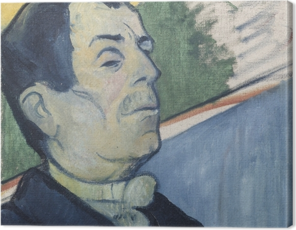 Leinwandbild Paul Gauguin - Herr Ginoux - Reproduktion