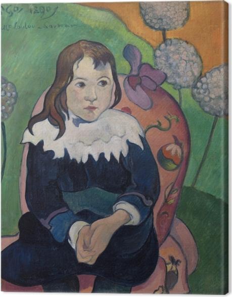 Leinwandbild Paul Gauguin - M. Loulou - Reproduktion