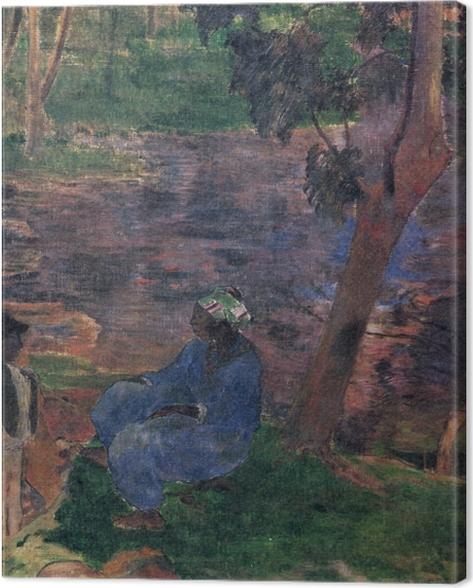 Leinwandbild Paul Gauguin - Martinique - Reproduktion
