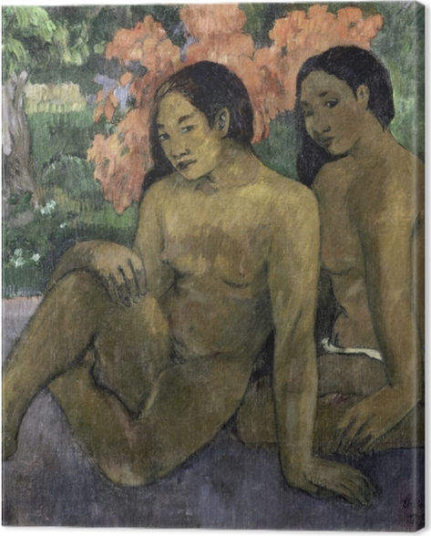 Leinwandbild Paul Gauguin - Und das Gold ihrer Körper - Reproduktion