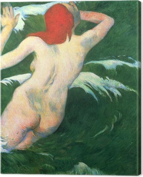 Leinwandbild Paul Gauguin - Undine - Reproduktion