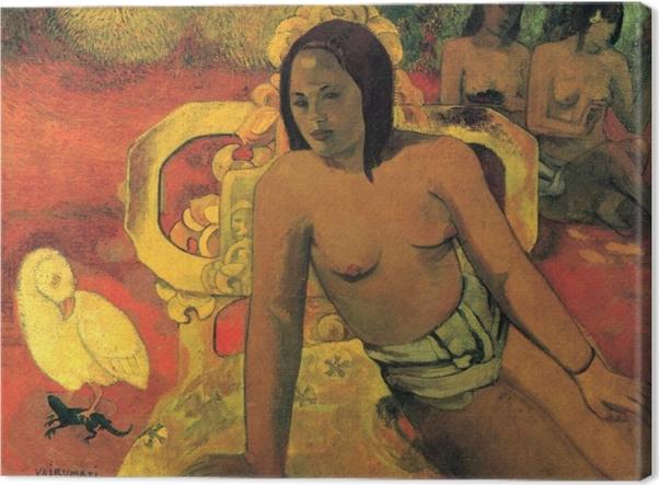 Leinwandbild Paul Gauguin - Vairumati - Reproduktion